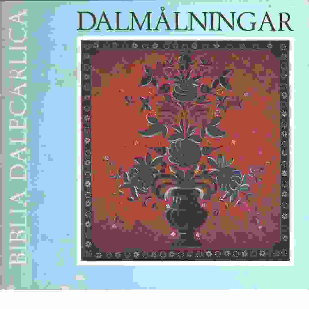 Biblia Dalecarlica -Jesu liv i dalmålningar - Svärdström, Svante m fl