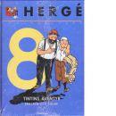 Hergé samlade verk 8 : Krabban med guldklorna, Den mystiska stjärnan - Smecken och Sulan - Hergé pseudonym för Georges Prosper Remi