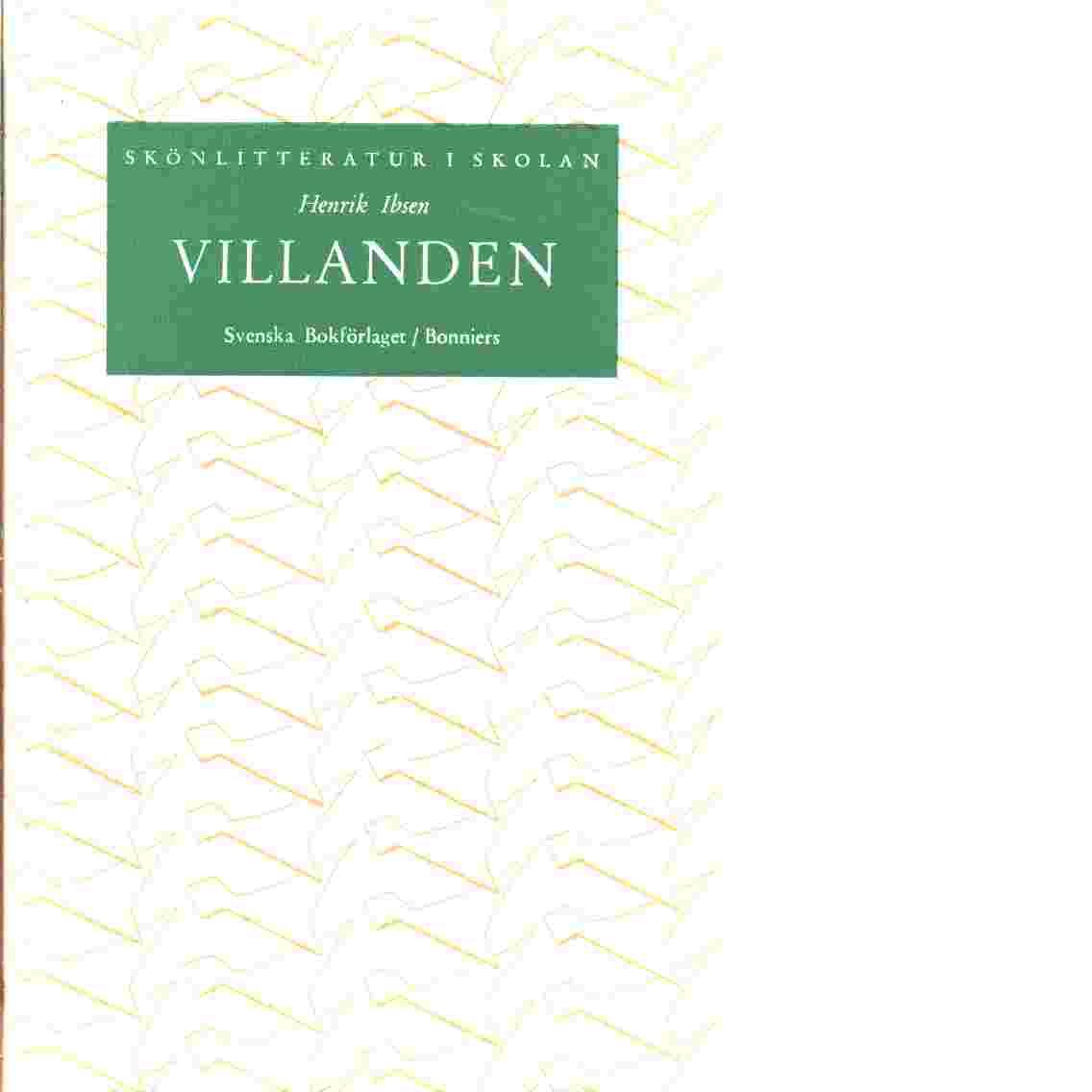 Vildanden - Ibsen, Henrik