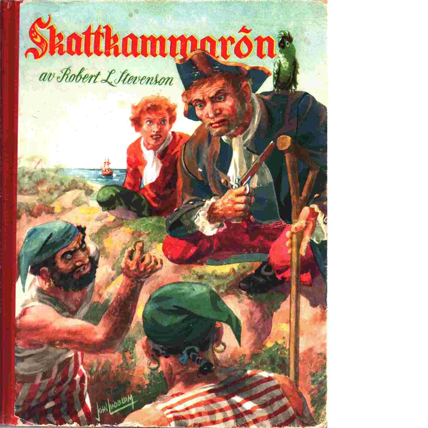 Skattkammarön : Bildserie efter Robert Louis Stevensons berömda  äventyrsbok - Stevenson, Robert Louis