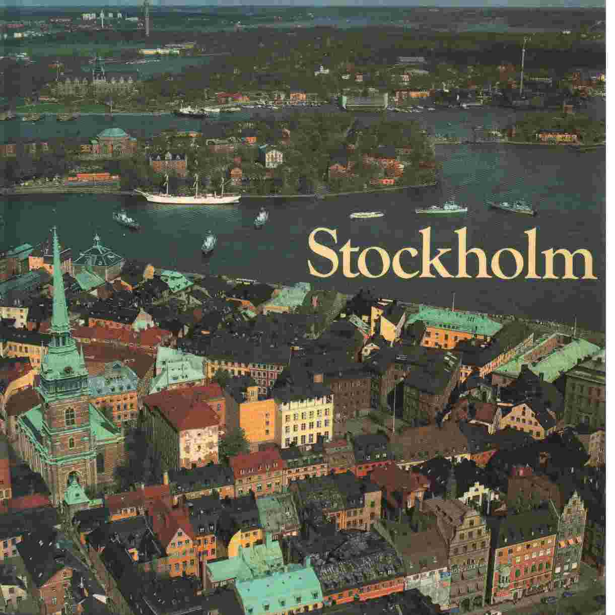 Stockholm  en bok om den moderna storstadens miljöer, historia och människor - Andersson, Gunder   och  Bergqvist, Ulf,