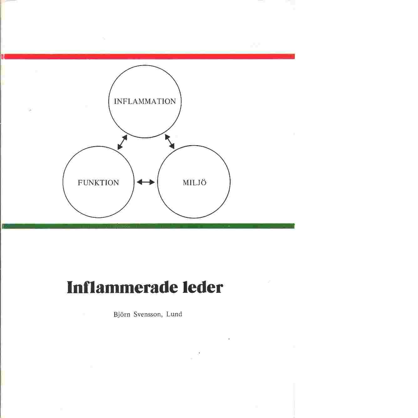 Inflammerade leder - Svensson, Björn