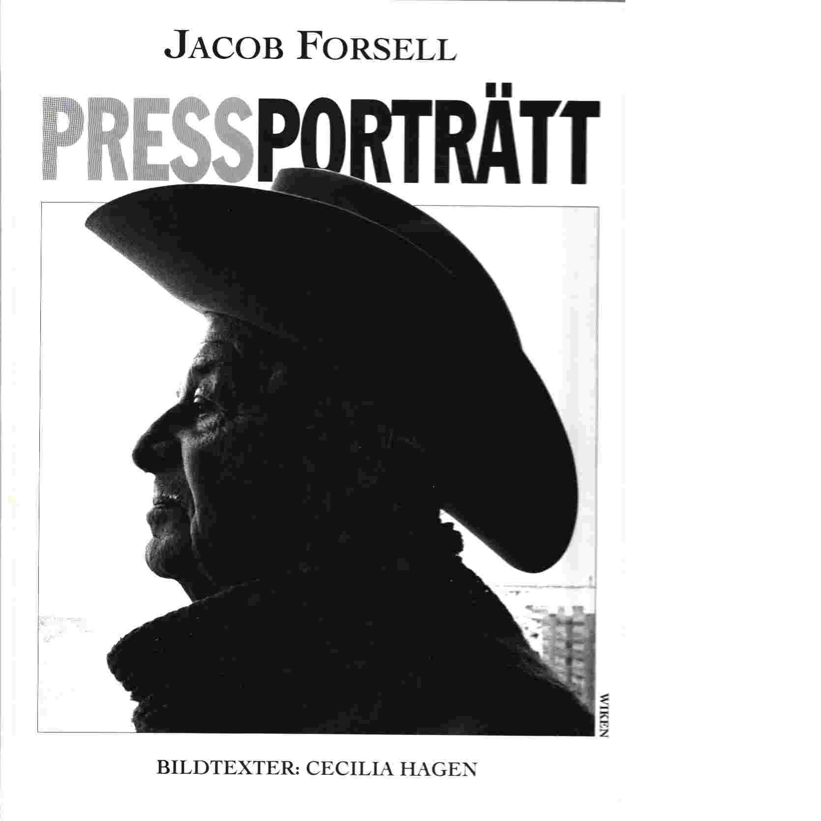 Pressporträtt - Forsell, Jacob