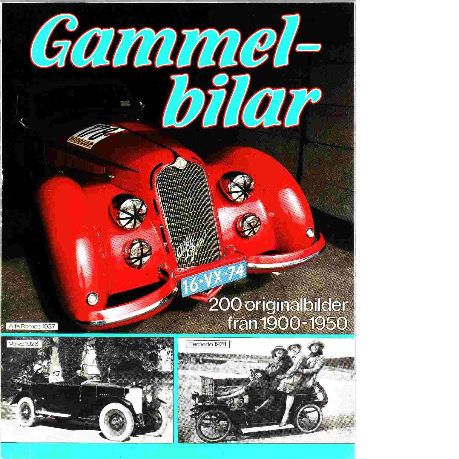 Gammel-bilar 1900-1950 - Haventon, Peter