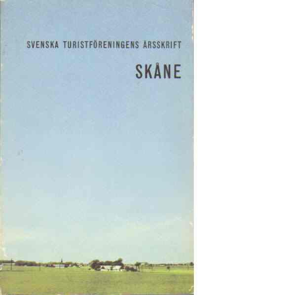 STF:s årsskrift 1961 - Skåne - Red.