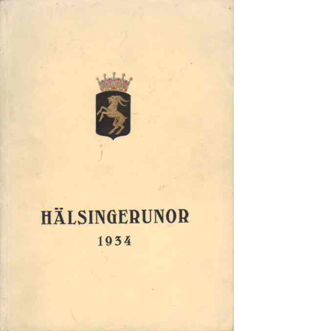 Hälsingerunor 1934 - Red.