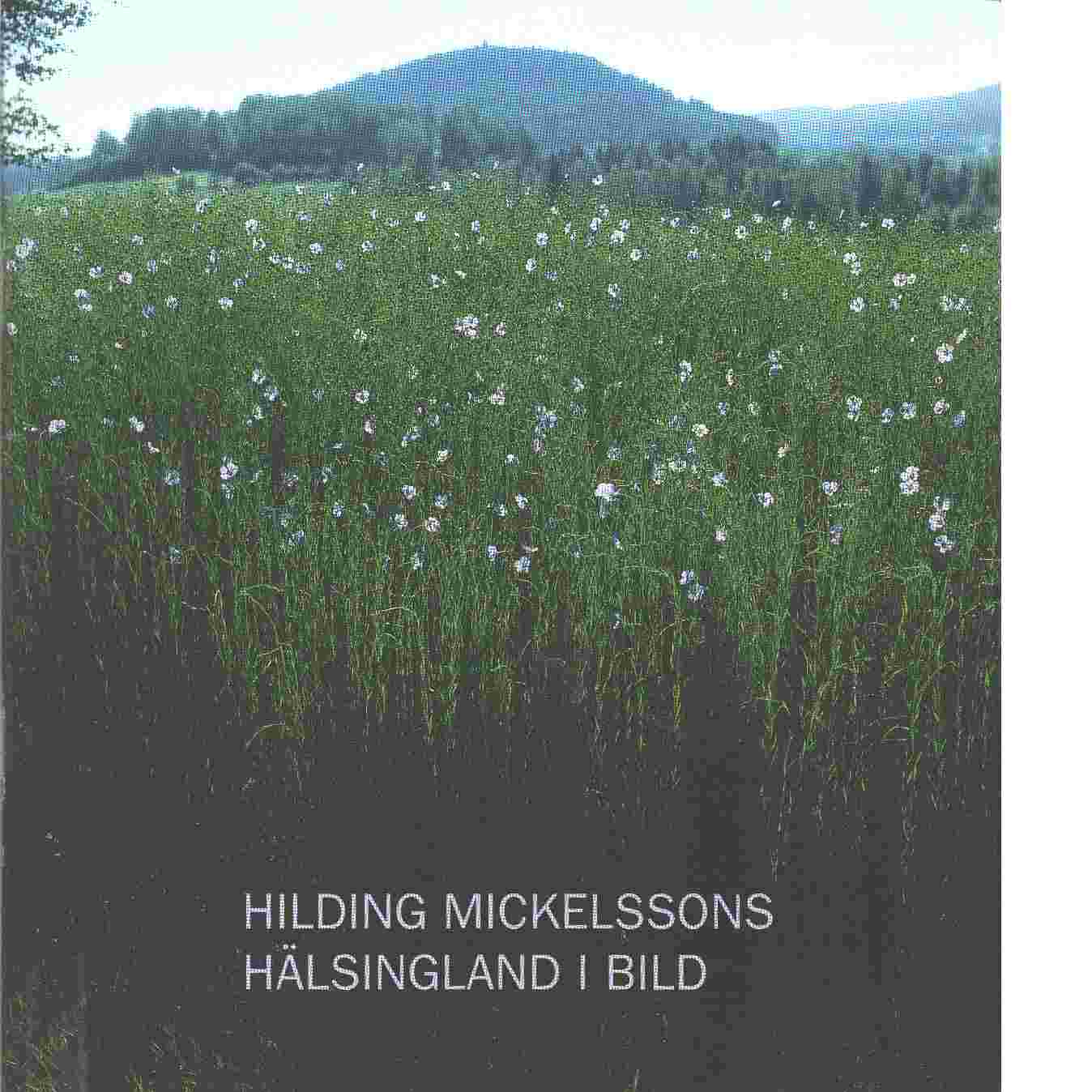 Hilding Mickelssons Hälsingland i bild - Mickelsson, Hilding