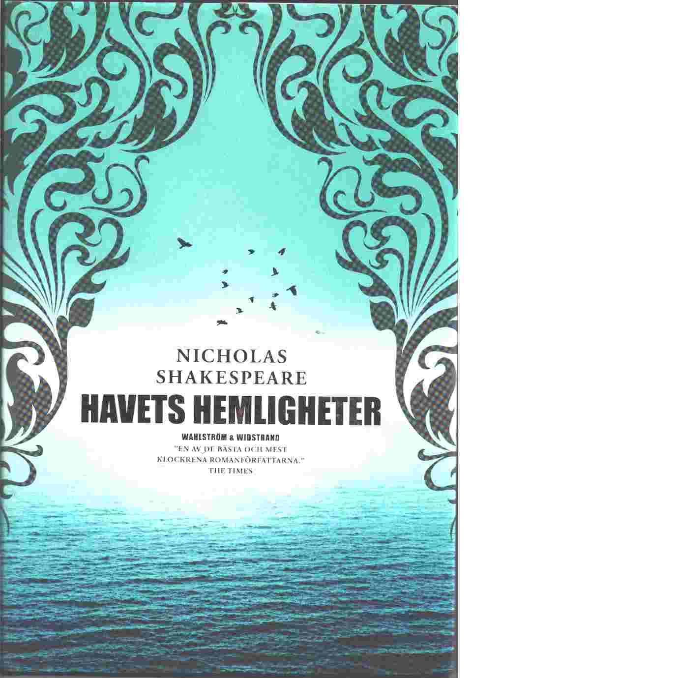 Havets hemligheter - Shakespeare, Nicholas