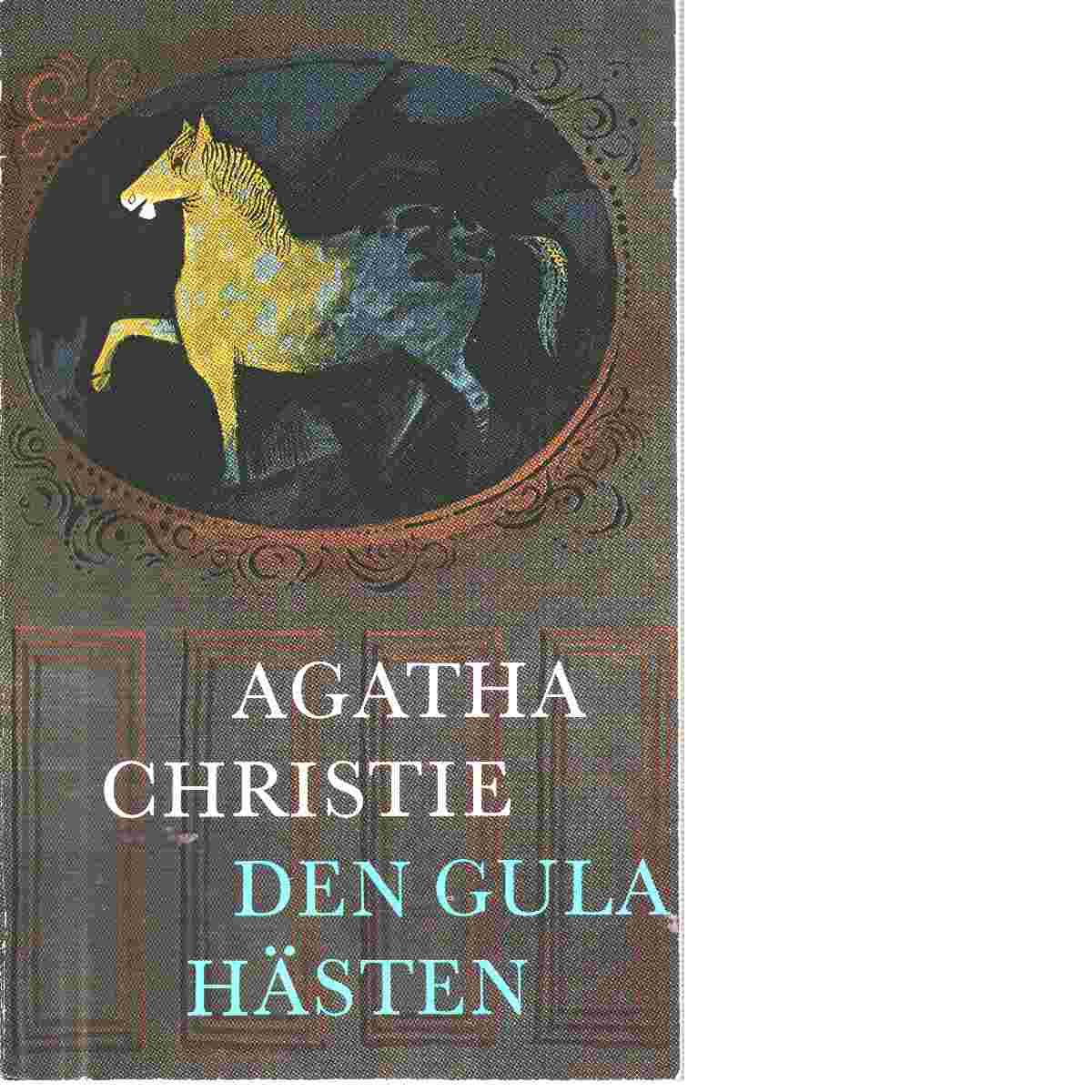 Den gula hästen : detektivroman - Christie, Agatha