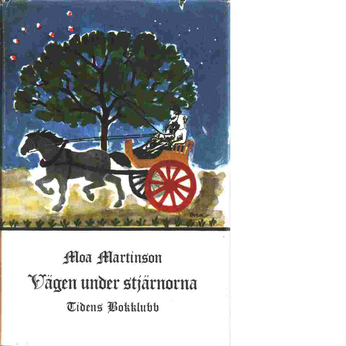 Vägen under stjärnorna - Martinson, Moa