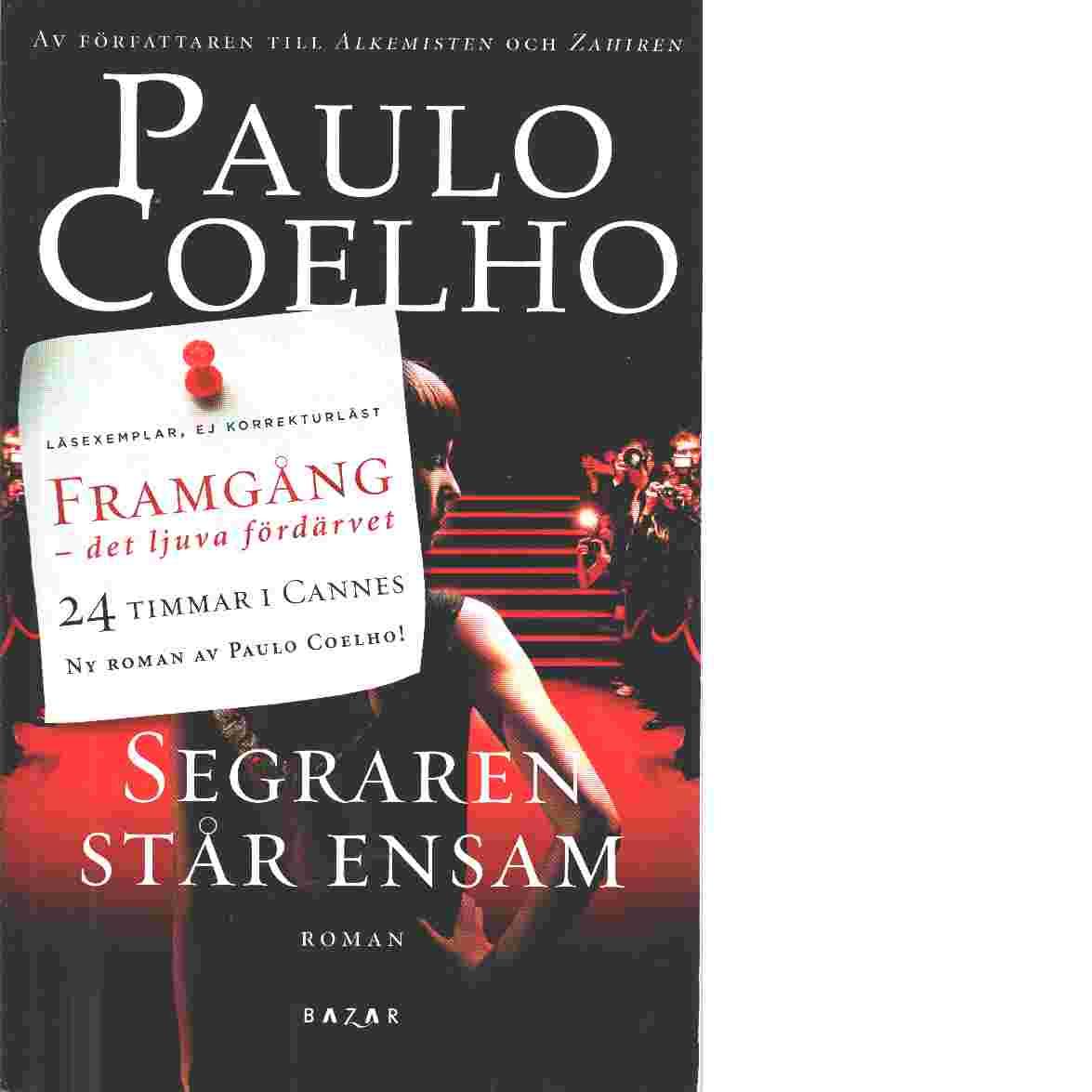 Segraren står ensam - Coelho, Paulo