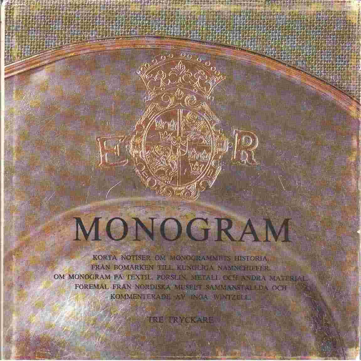 Monogram - Wintzell, Inga