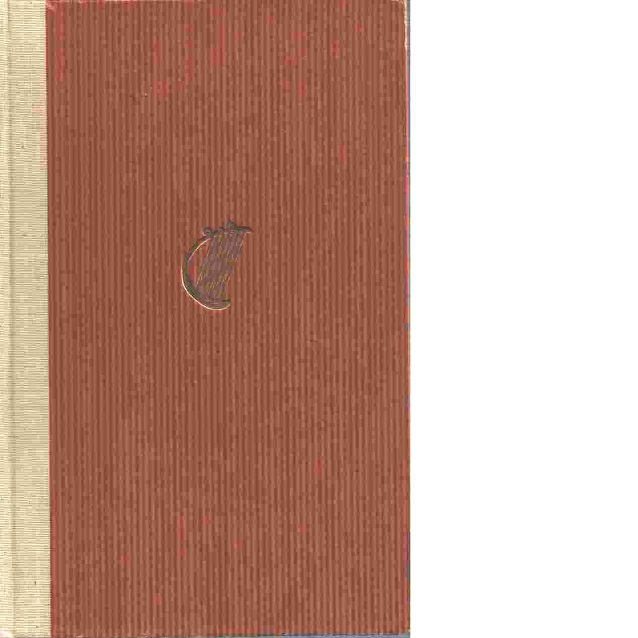 100 dikter : ett urval ur sex versböcker - Gullberg, Hjalmar