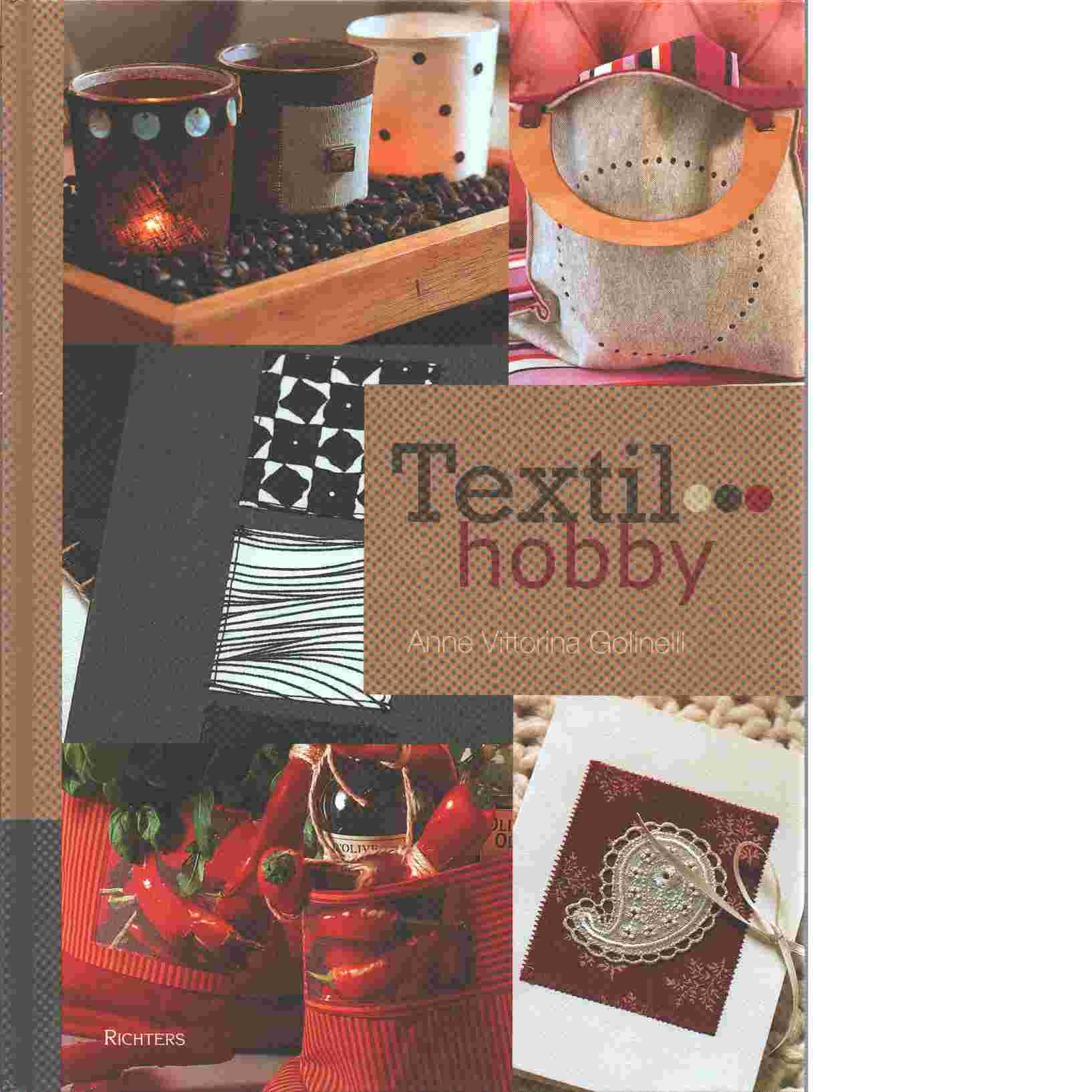 Textil - hobby - Golinelli, Anne Vittorina