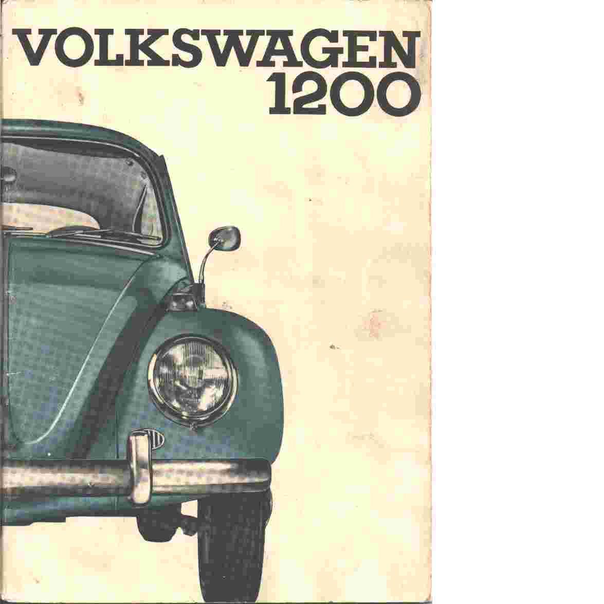 Volkswagen 1200 Limousine och Cabriolet : instuktionsbok - Red.