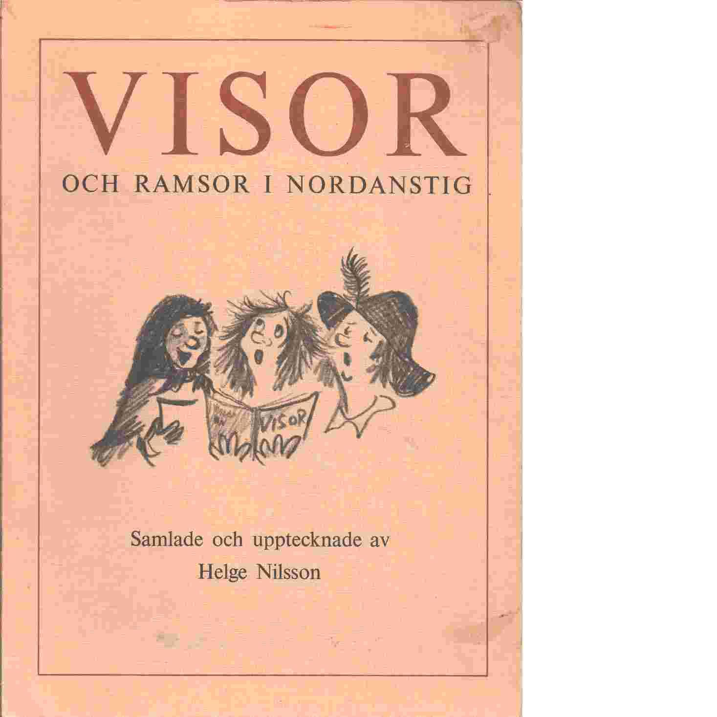Visor och ramsor i Nordanstig - Nilsson, Helge