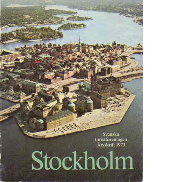 STF:s årsskrift 1973 - Stockholm - Red.