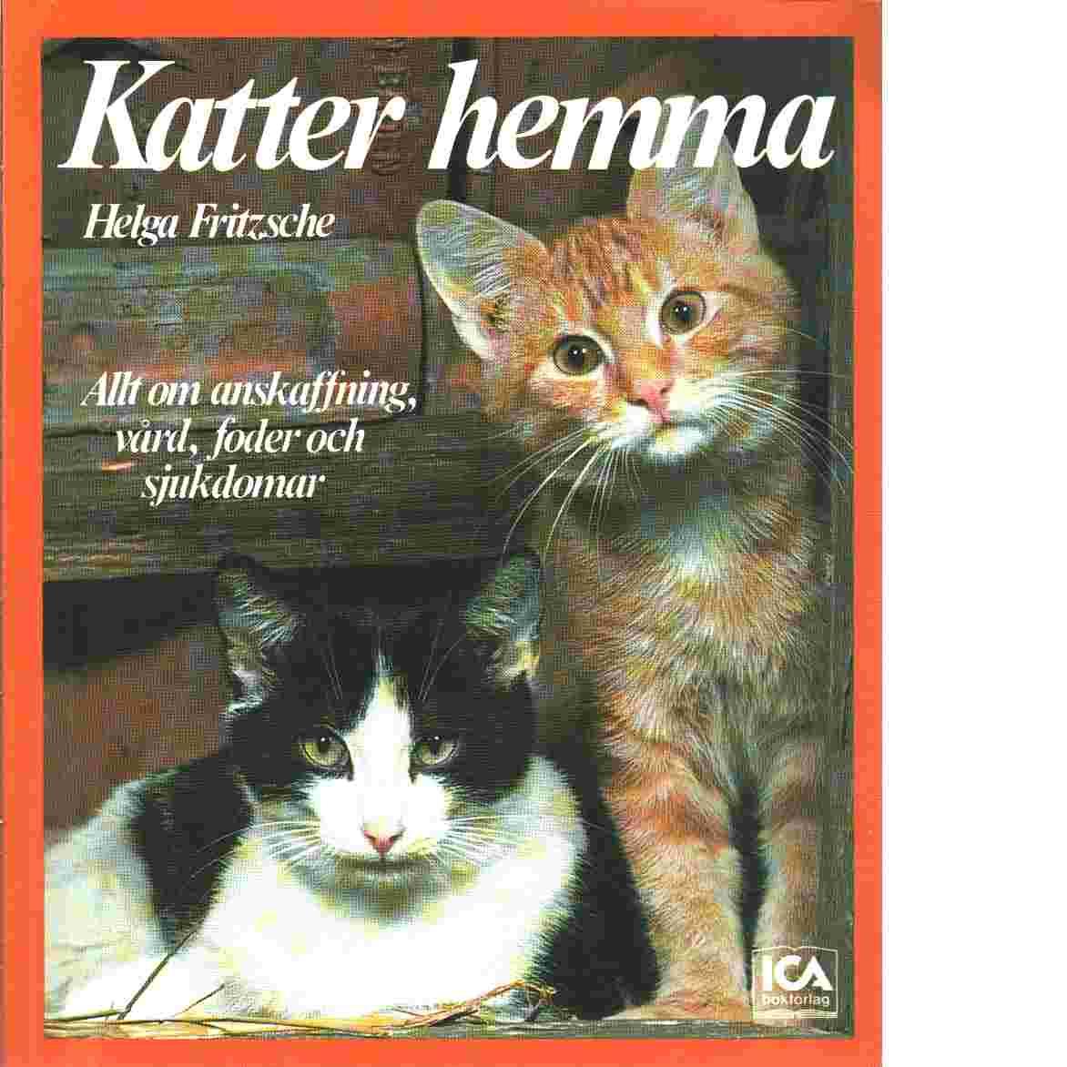 Katter hemma - Fritzsche, Helga