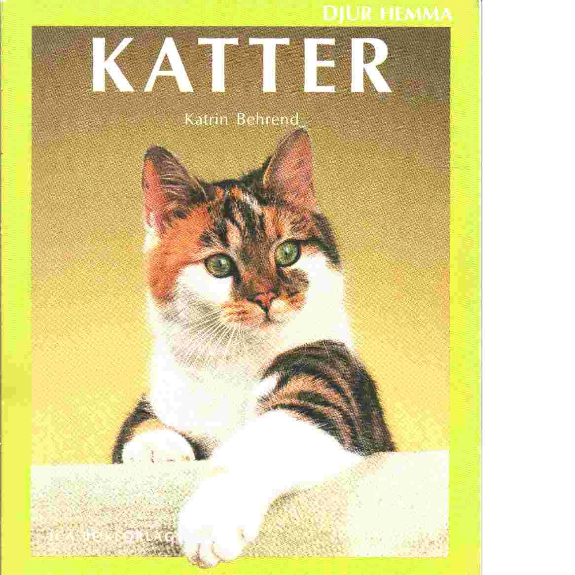 Katter - Behrend, Katrin
