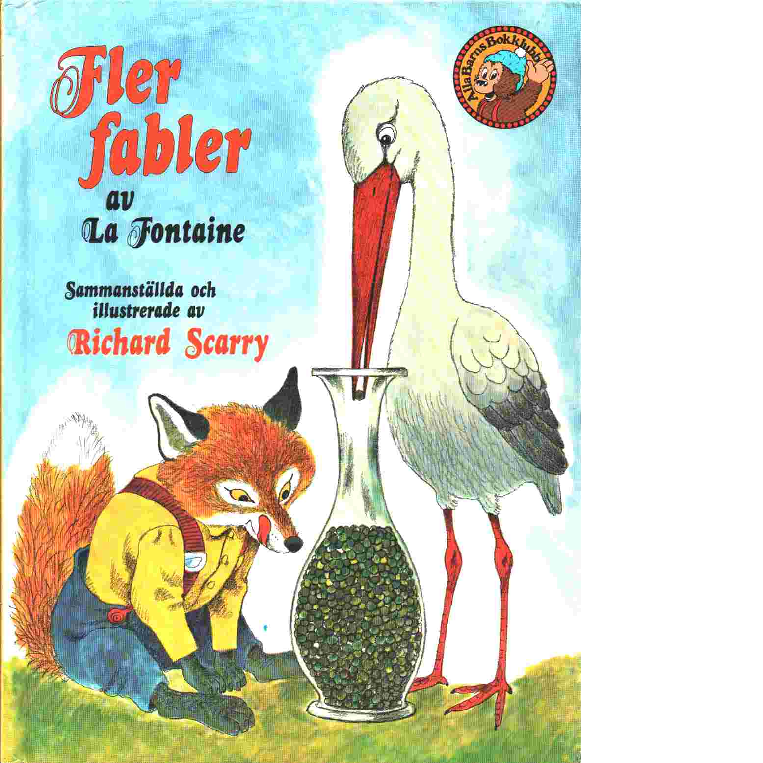 Fler fabler - La Fontaine, de Jean