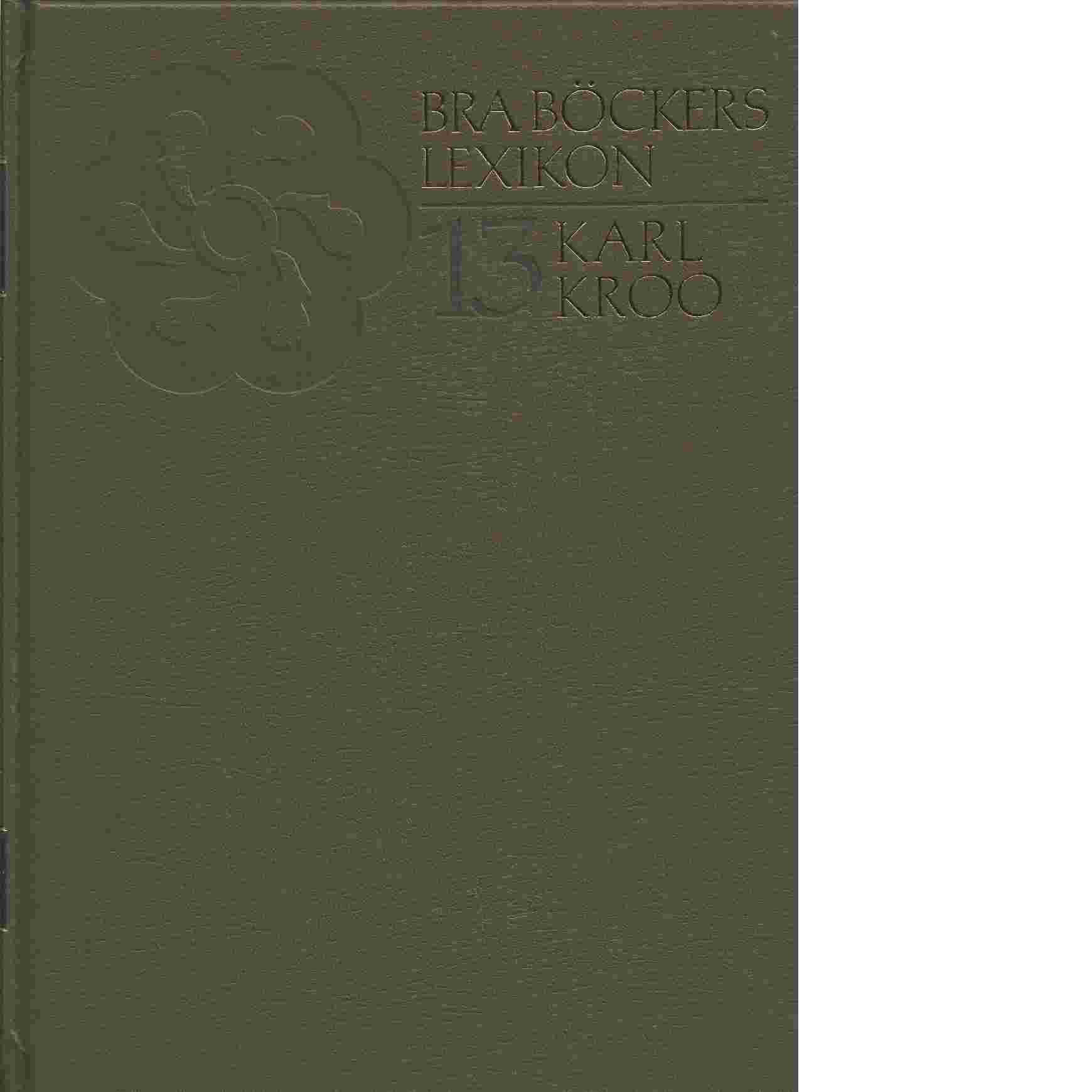 Bra böckers lexikon. 13 - Friesen, von Sten