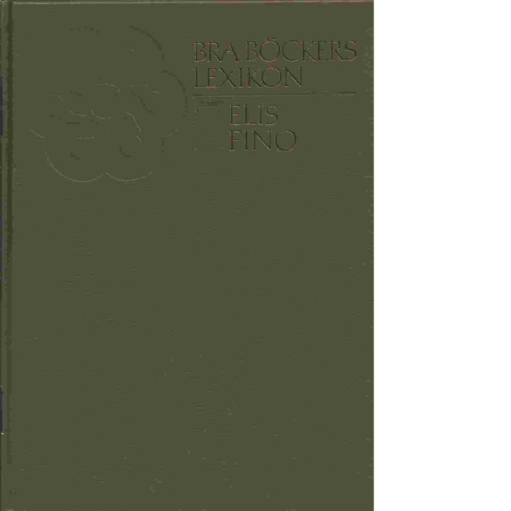 Bra böckers lexikon. 7 - Friesen, von Sten