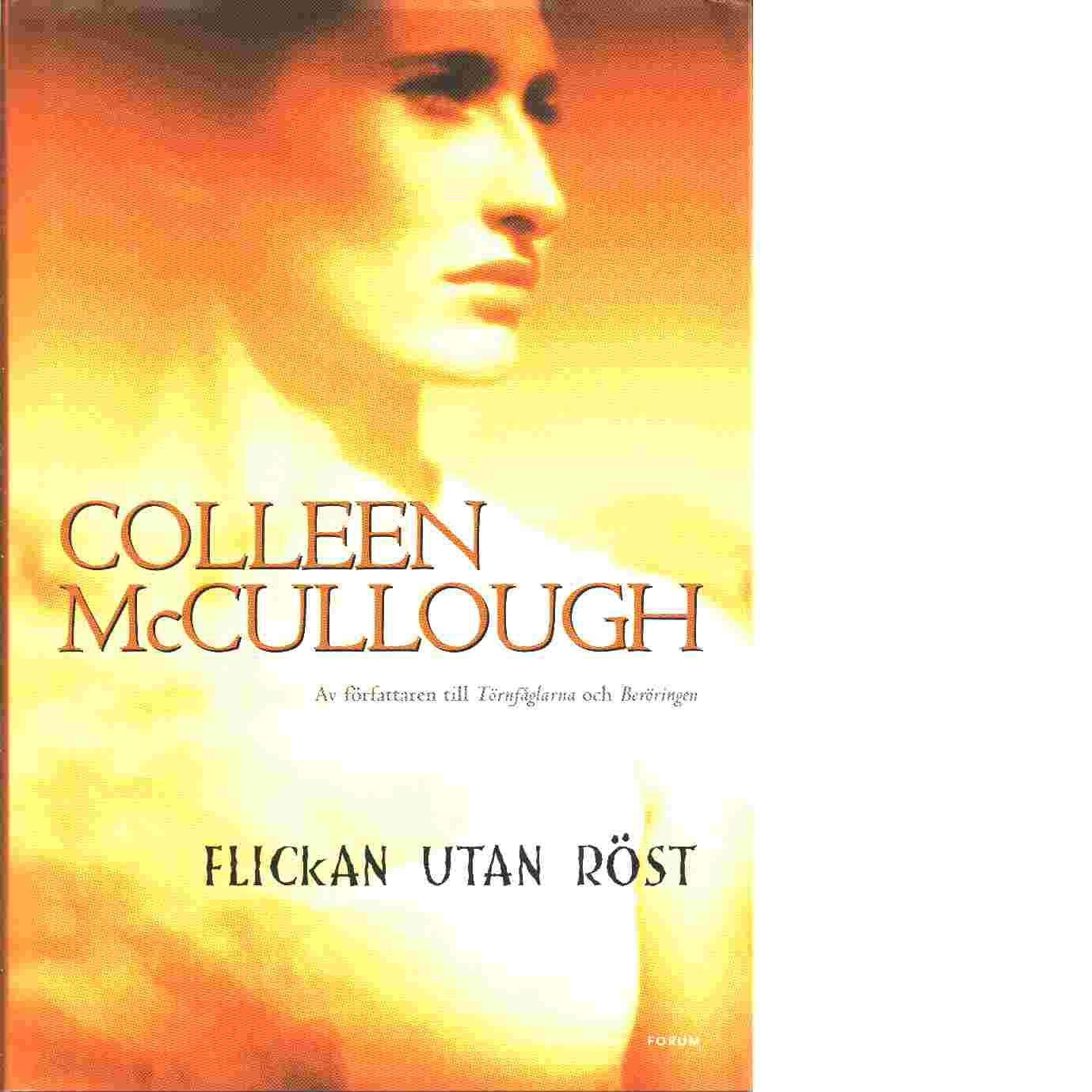 Flickan utan röst - McCullough, Colleen