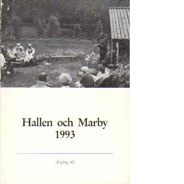 Hallen och Marby 1993 - Red. Hallen och Marby pastorat
