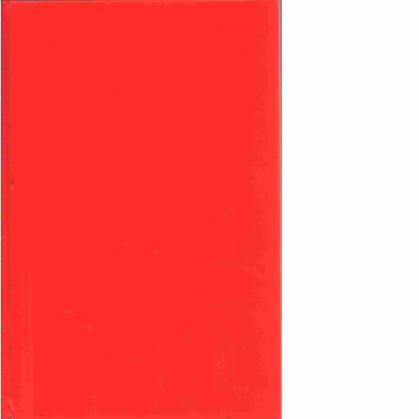 Röda rummet - Strindberg, August