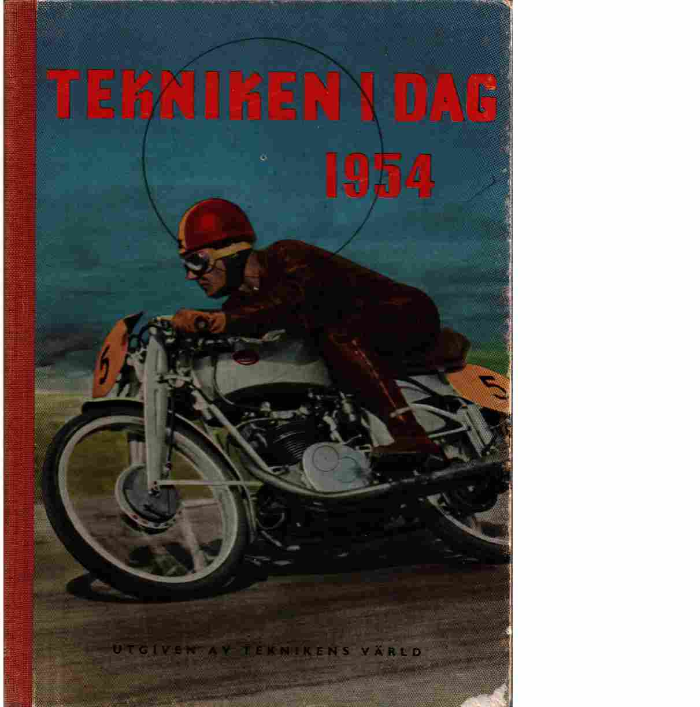 Tekniken i dag 1954 - red.