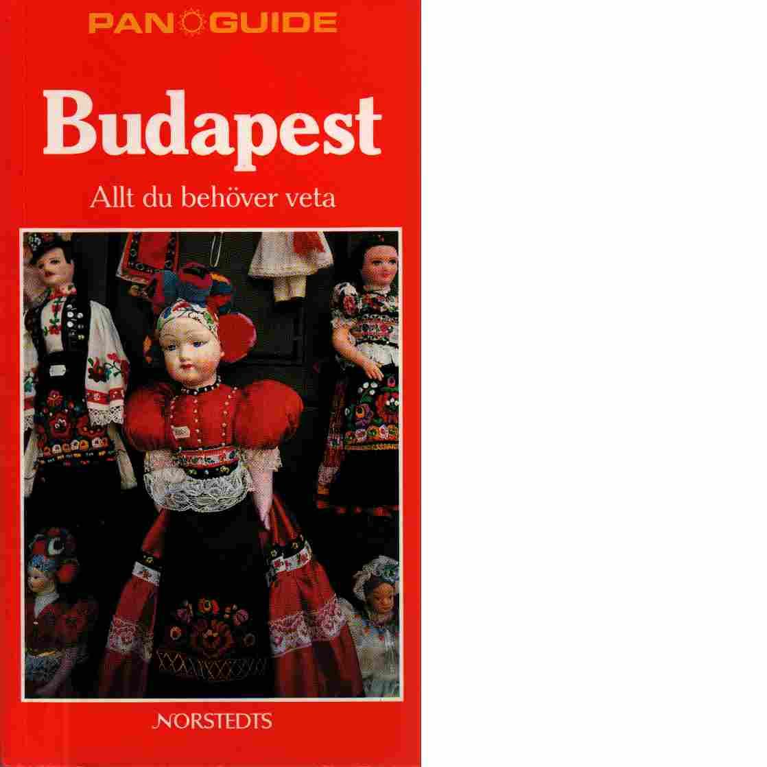 Budapest : allt du behöver veta - Rice, Christopher  och Rice, Melanie