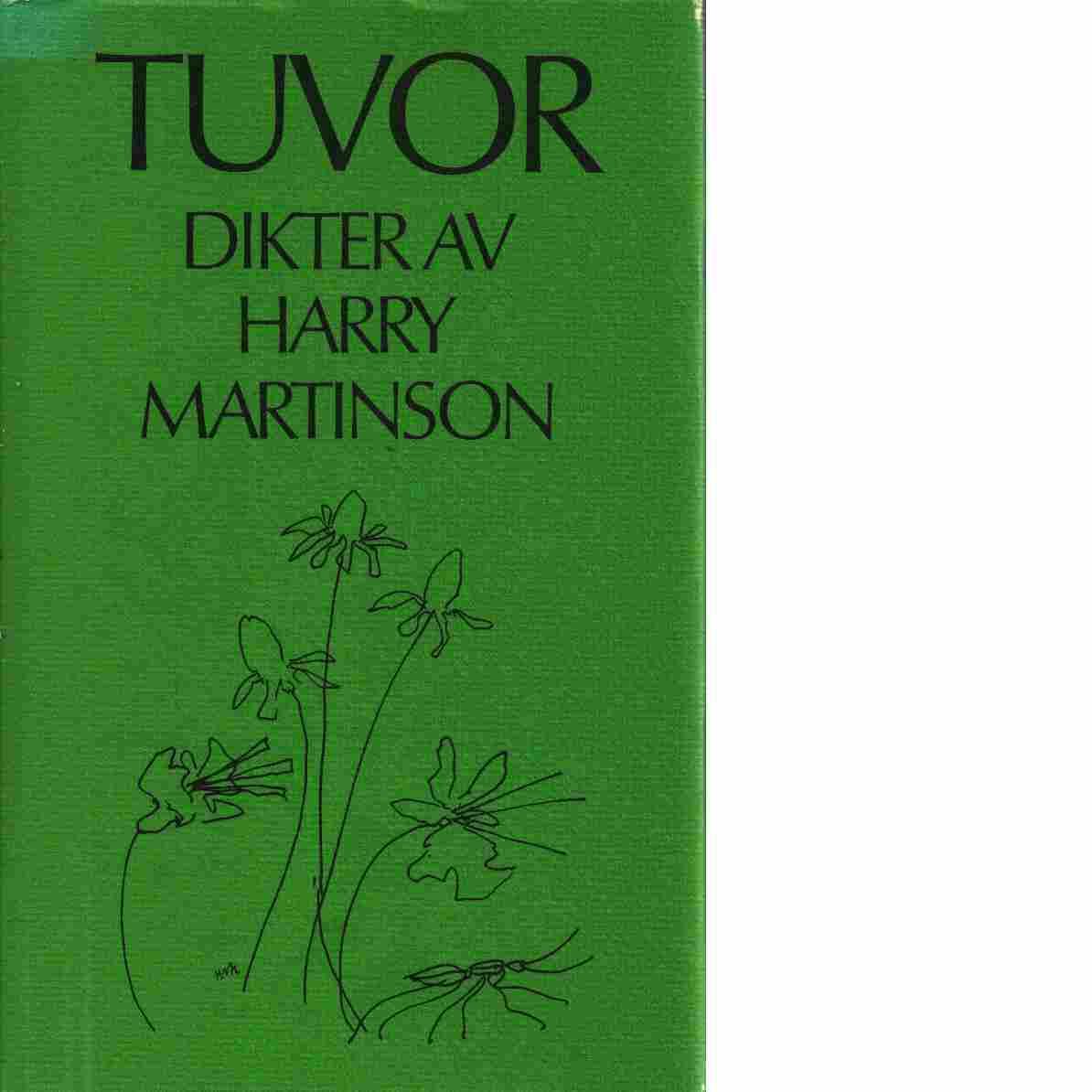 Tuvor : [dikter] - Martinson, Harry