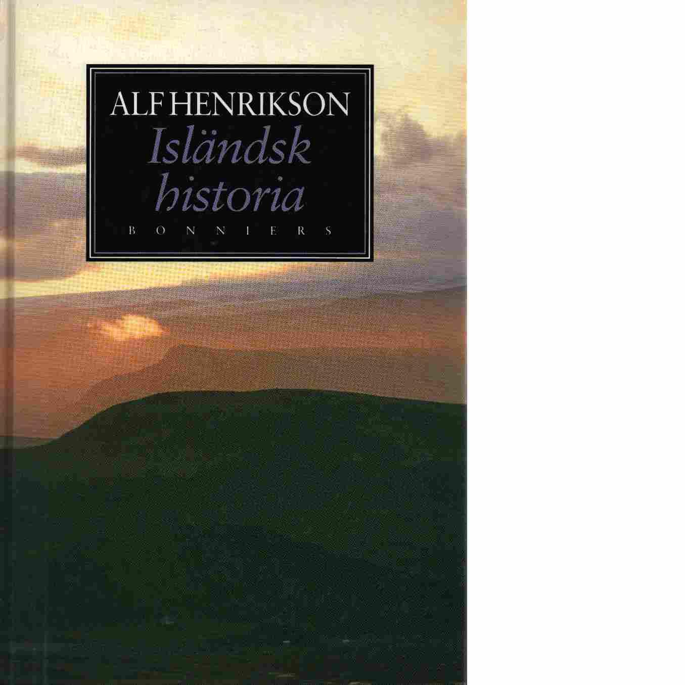 Isländsk historia - Henrikson, Alf