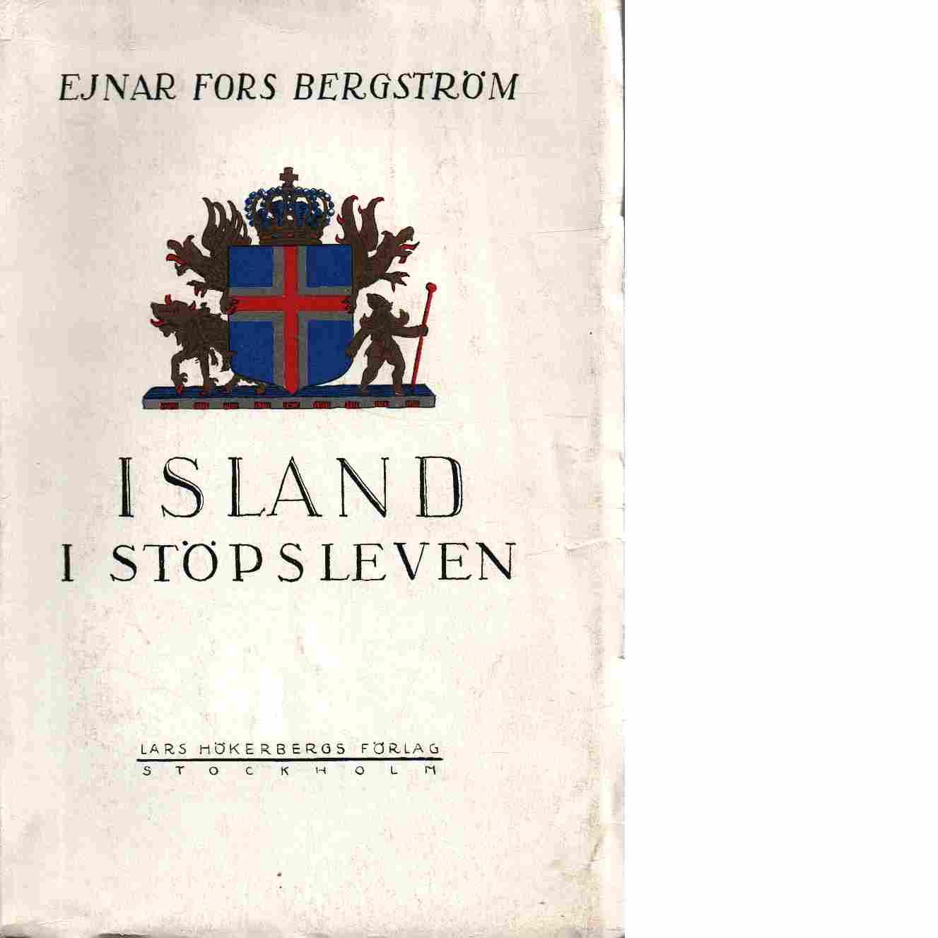 Island i stöpsleven - Bergström, Ejnar Fors
