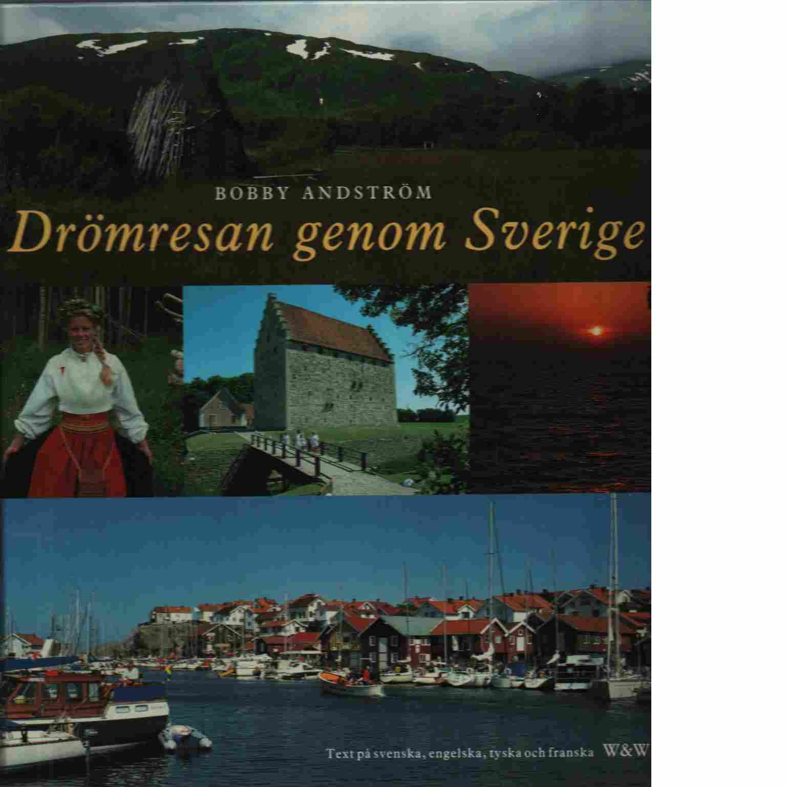 Drömresan genom Sverige - Andström, Bobby