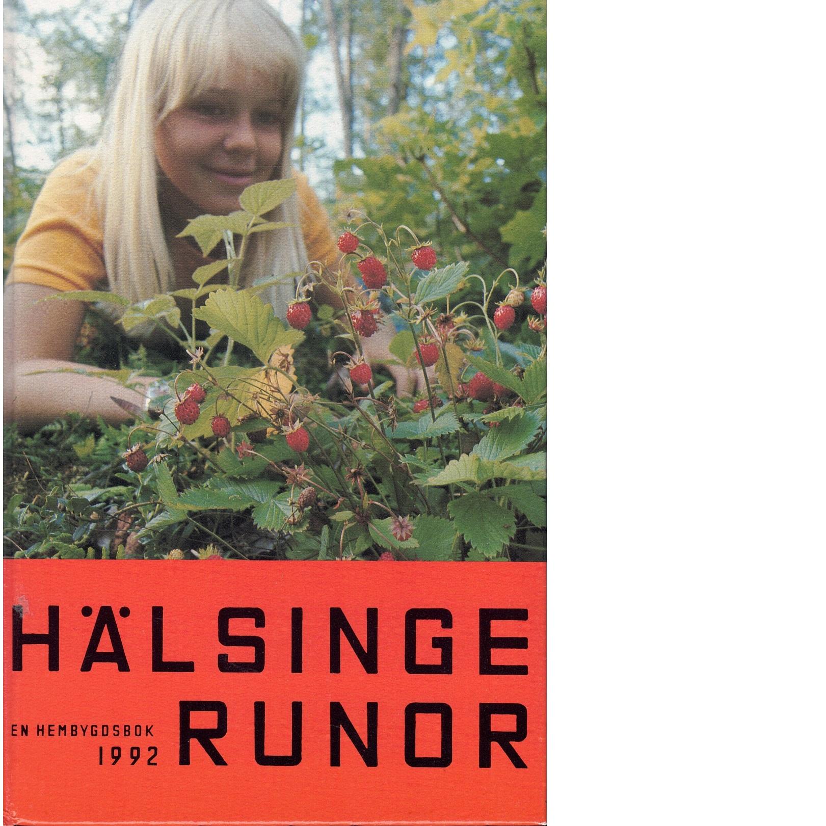 Hälsingerunor 1992 - Red.
