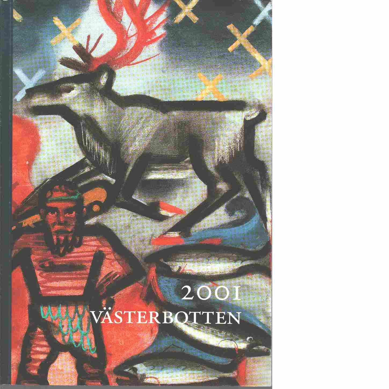 STF:s årsskrift 2001 - Västerbotten - Red.