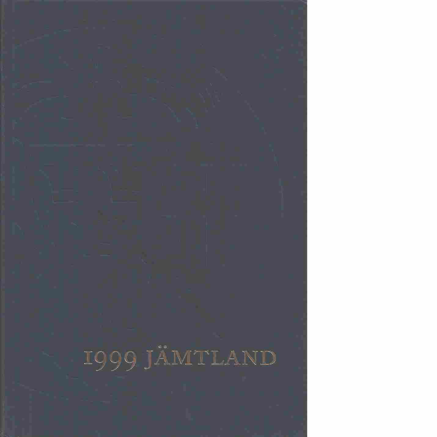 STF:s årsskrift 1999 - Jämtland - Red.