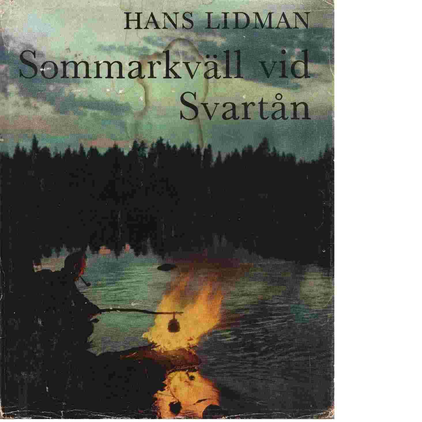 Sommarkväll vid Svartån - Lidman Hans