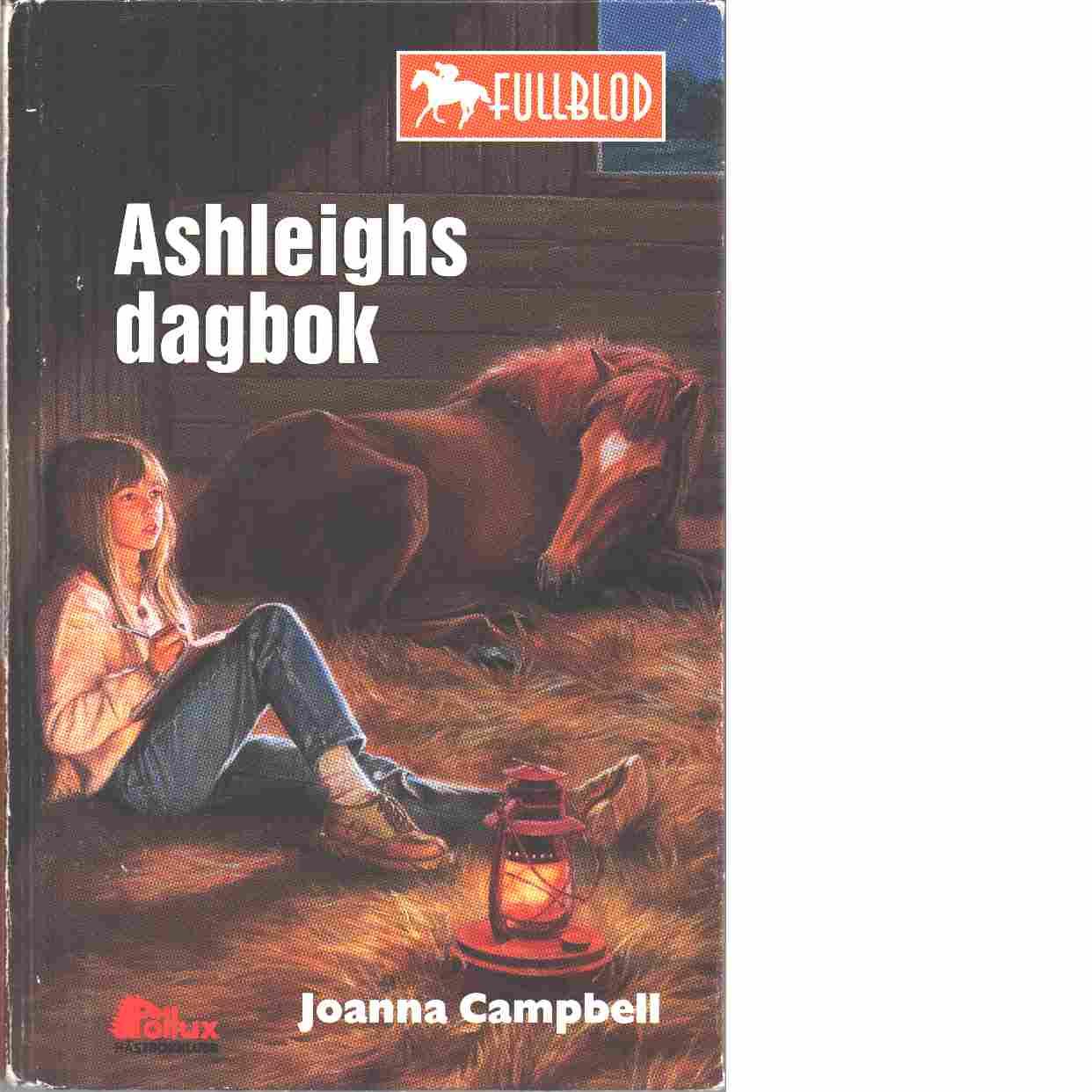 Ashleighs dagbok - Campbell, Joanna