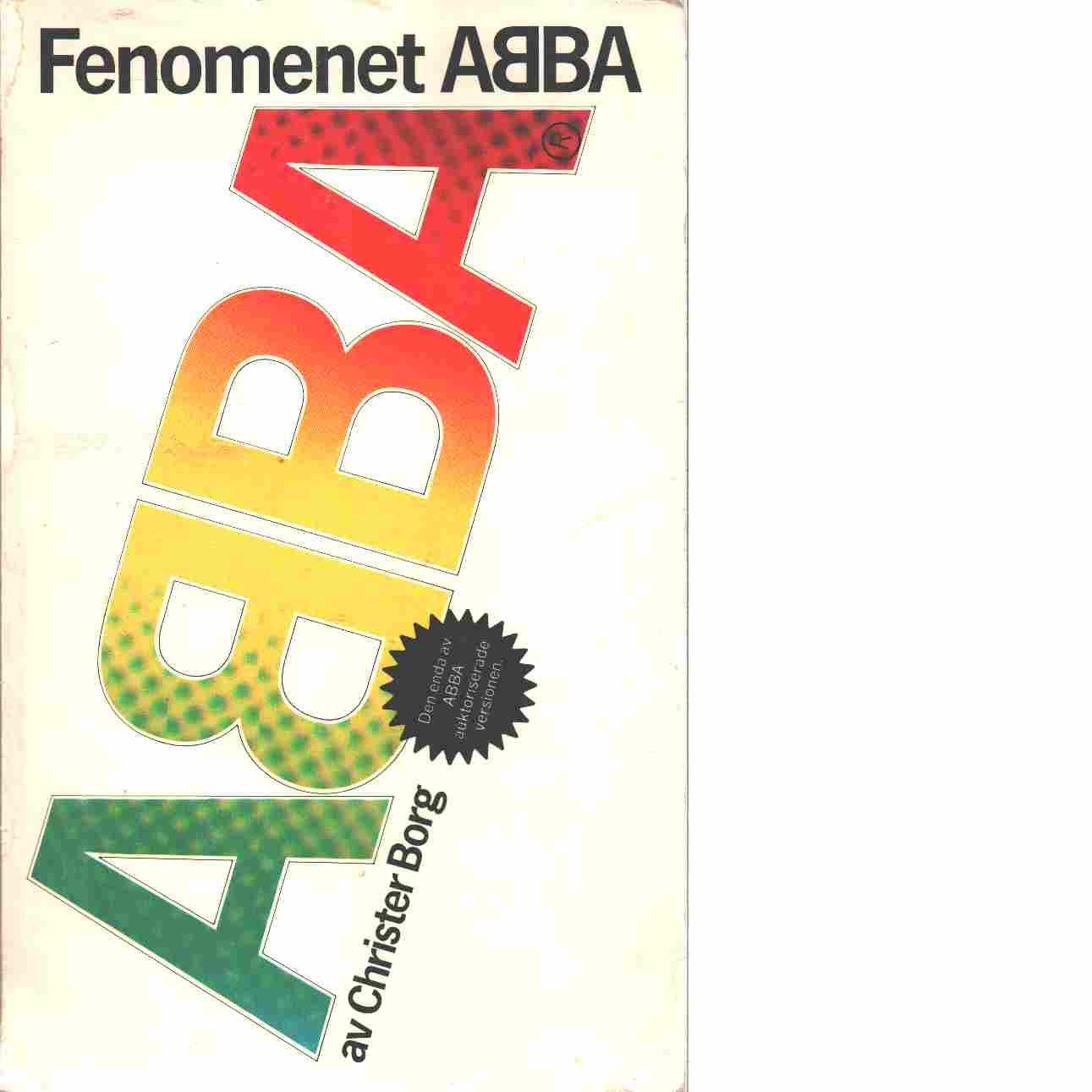 Fenomenet ABBA - Borg, Christer