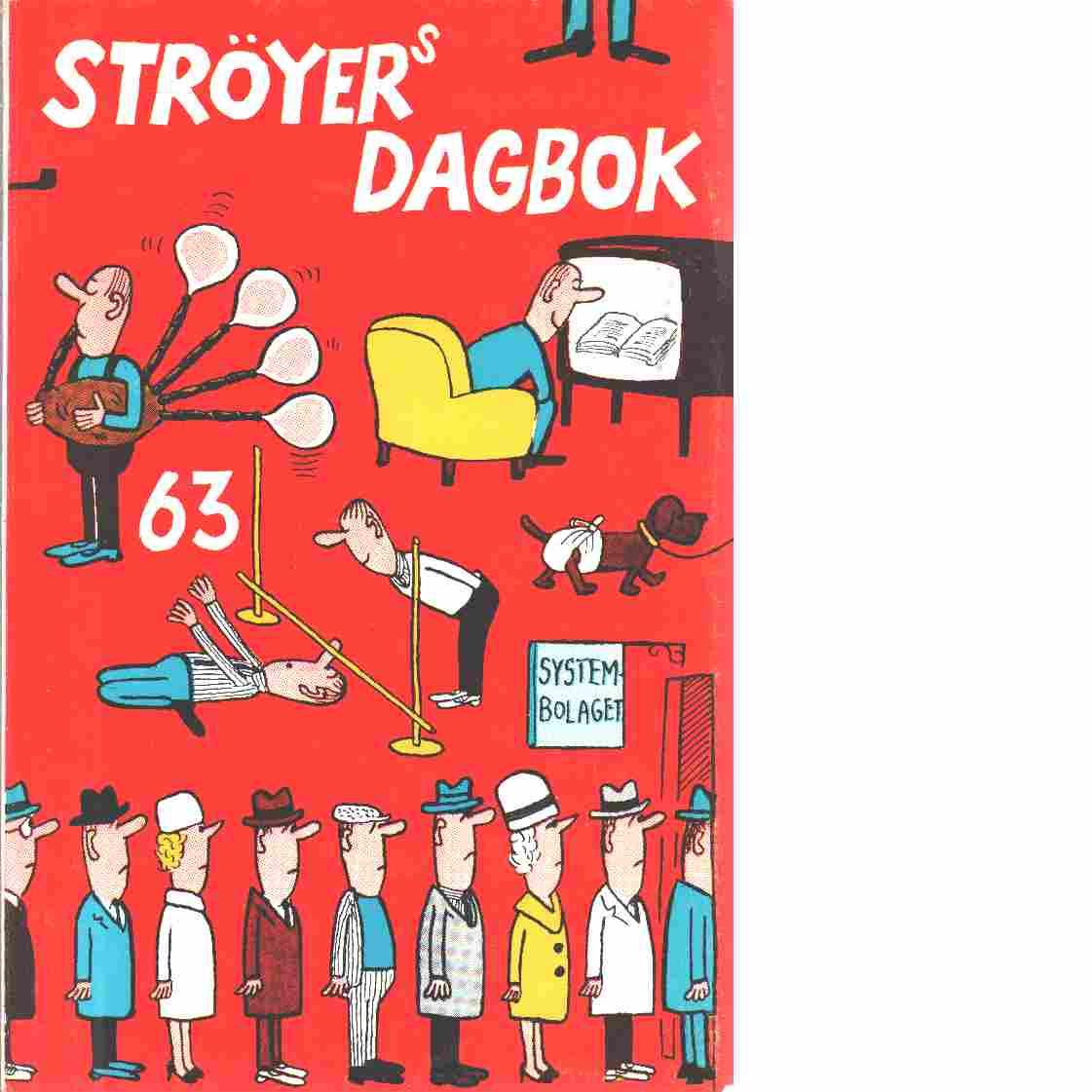 Ströyers dagbok. - Ströyer, Poul