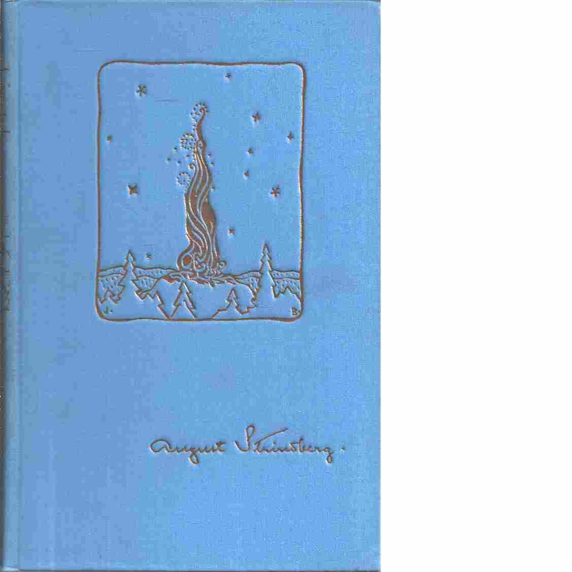 August Strindbergs samlade dikter : tredje delen : Ordalek och småkonst - Strindberg, August