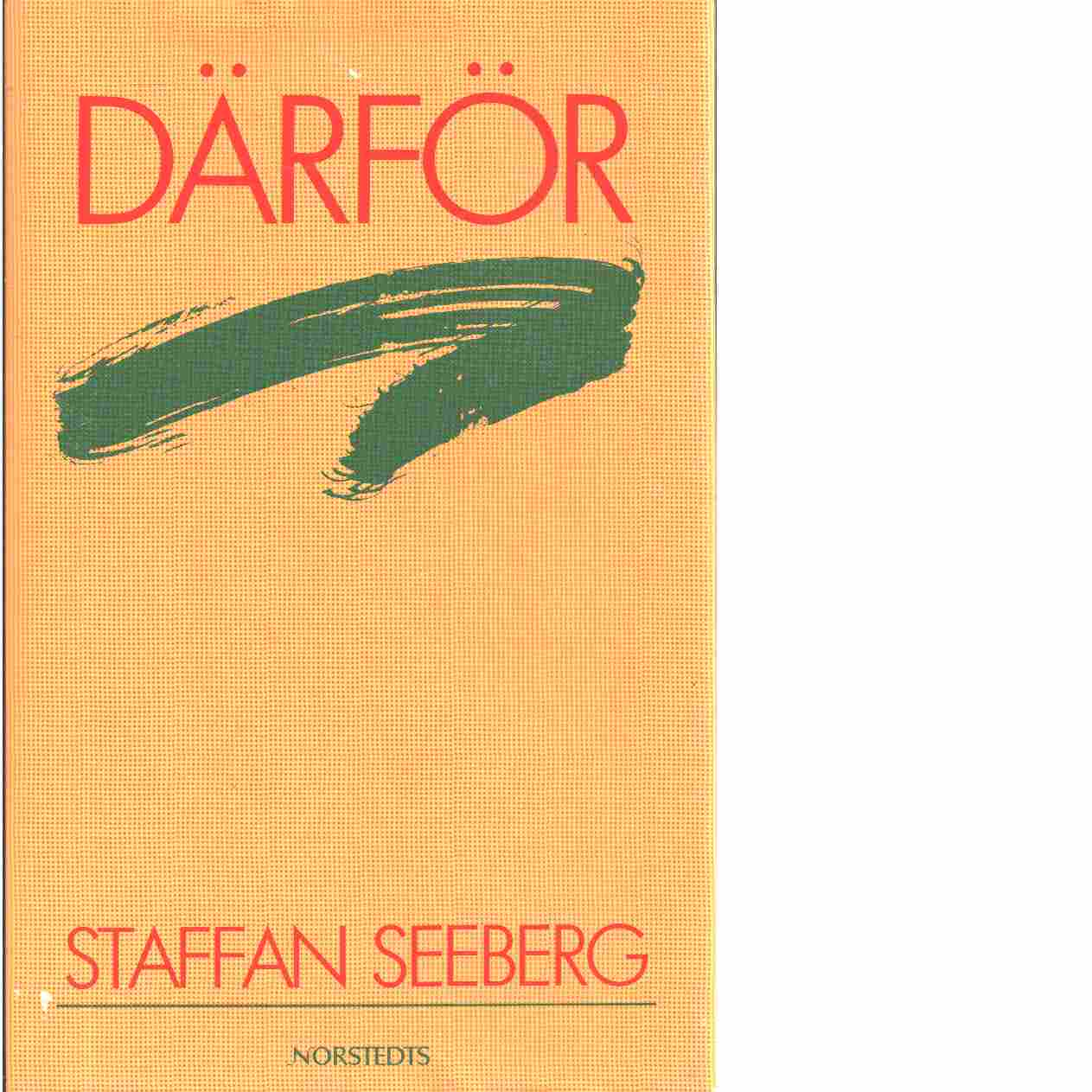 Därför - Seeberg, Staffan