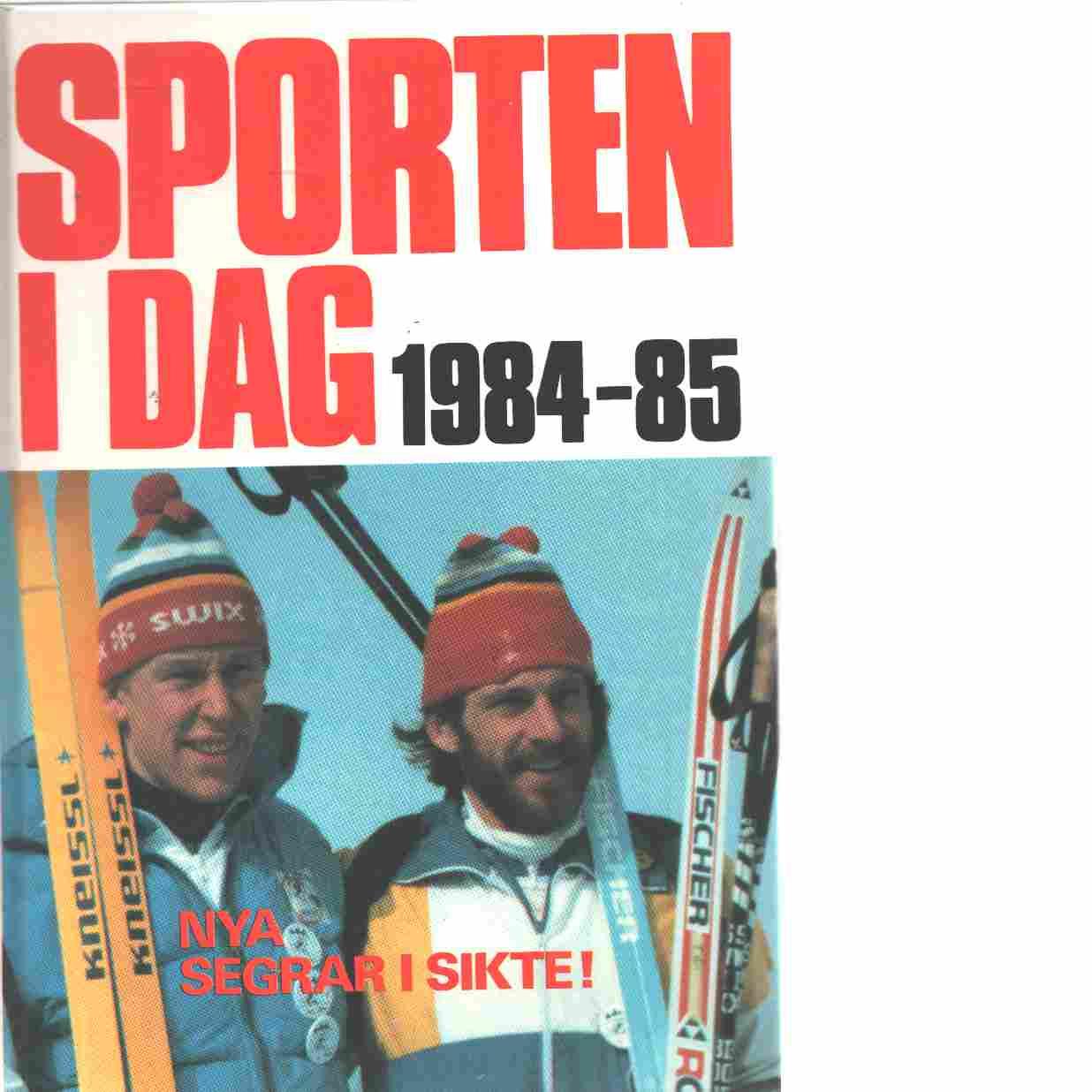 Sporten idag  1984 - 85 - Red,