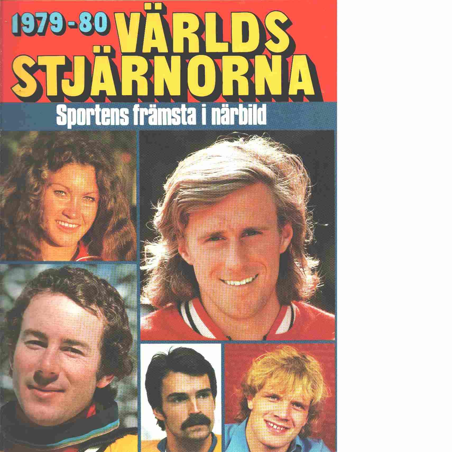 1979-80 Världsstjärnorna - Red.