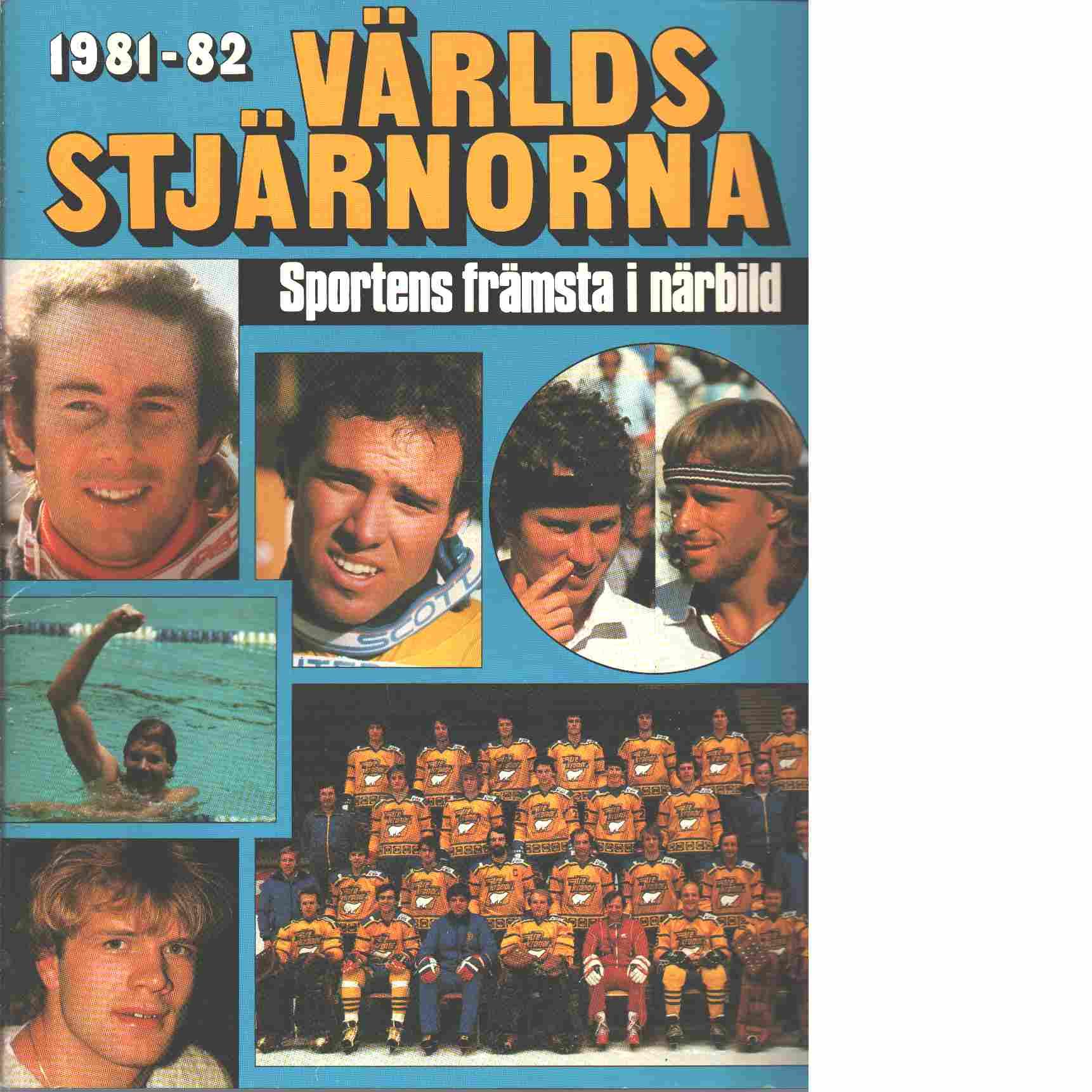 1981 - 82 Världsstjärnorna - Red.