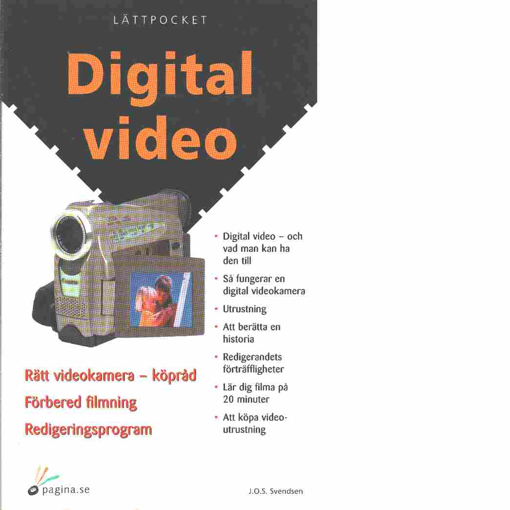 Digital video - Svendsen, J. O. S.