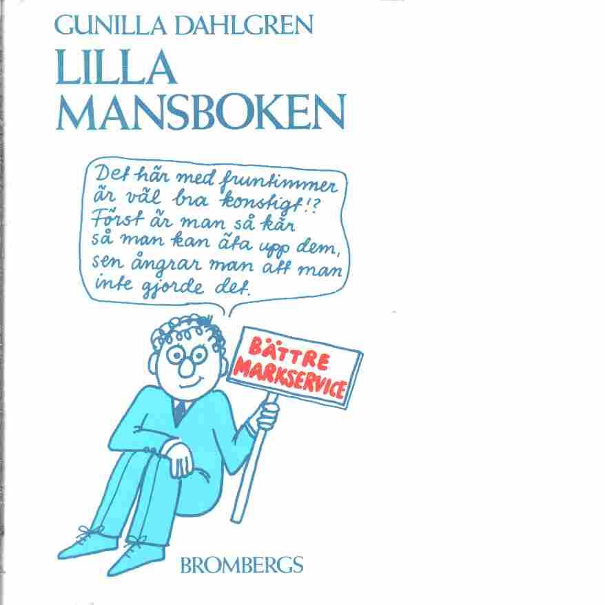 Lilla mansboken - Dahlgren, Gunilla