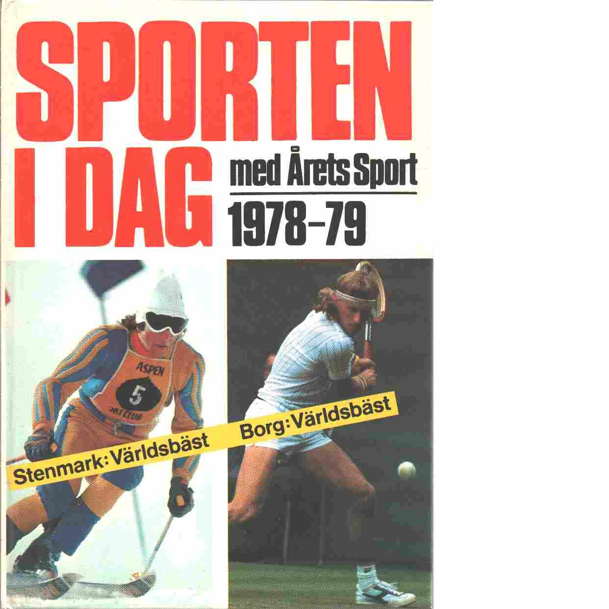 Sporten idag  1978 - 79 - Red,